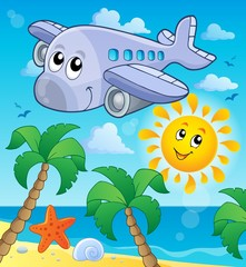 Image with airplane theme 4