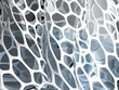 3d rendering of abstract grid structure