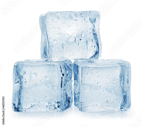 In de dag Water Ice cube