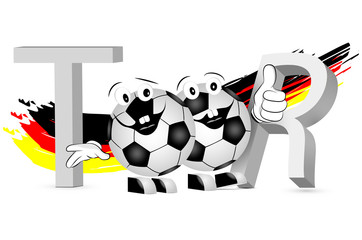 2 Fußballfans