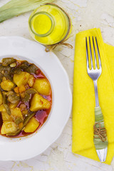 Fresh vegetable stew