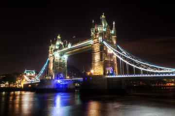 nächtliche Tower Bridge