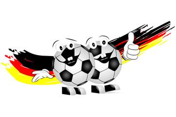 deutscher Fußballfan
