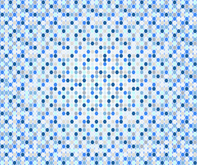 Blue and grey abstract  mosaic  background, vector format