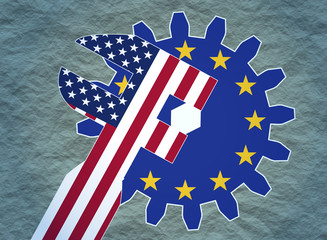 usa politic pressure in europe union