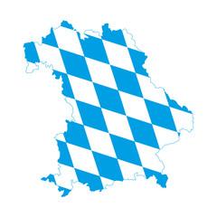 Bayern, blau-weiß