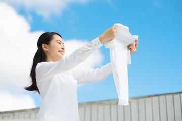 洗濯・女性