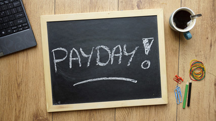 Payday written