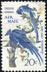 stamp shows Columbia Jays