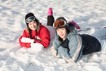 Winter Leiasureof Couple