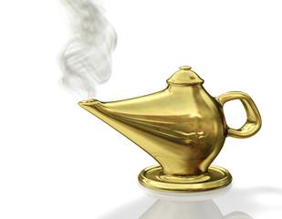 Wunderlampe Gold Rauch