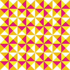 Multicolor triangle pattern background2
