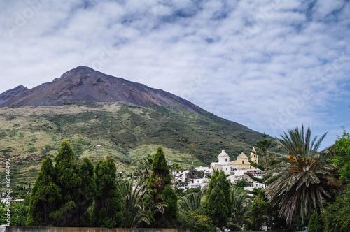 Papiers peints Volcan Stromboli