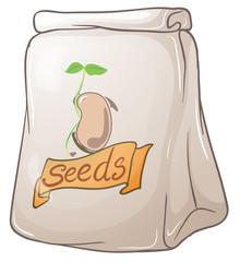 A pack of plant seeds