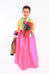 Kids in Korean Dress