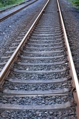 Bahngleis, Nahaufnahme