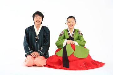 Couple in KoreanDress I