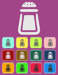 Salt icon - Vector icon isolated