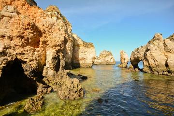 Ponta da Piedade Felsenküste bei Lagos, Algarve Portugal