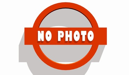 no photo text on stop road sign