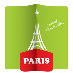Travel destination, Paris