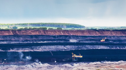 Opencast Mining, Time Lapse