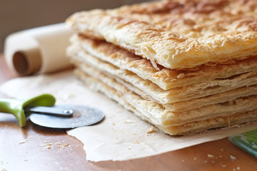 Puff Pastry in the Making