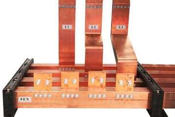 copper electrical bus