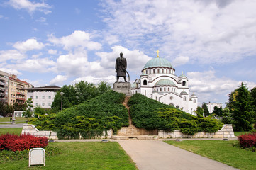 St. Sava temple in Belgrade