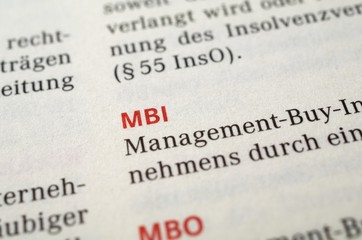 MBI, Management-buy-in