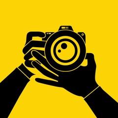hand hold camera