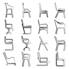 sketch chair collection