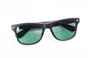 Black color of sun glasses