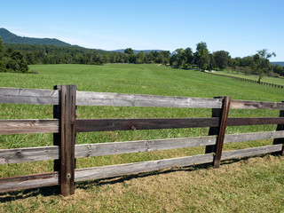 Virginia Farm Fence-7