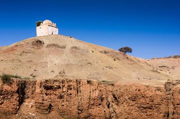 Village Ait Ourir in  Zat Valley, High Atlas Mountains, Morocco