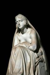 Inconsolabile sculpture, Camposanto, Pisa, Italy