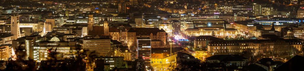 Stuttgart nachts