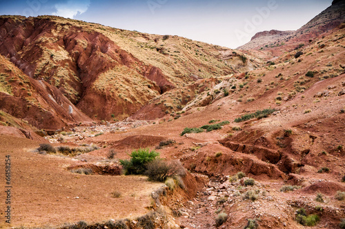 Papiers peints Maroc Zat Valley in the High Atlas Mountains, Morocco, Africa