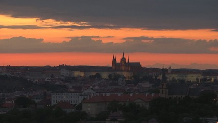 Timelapse Prague Castle