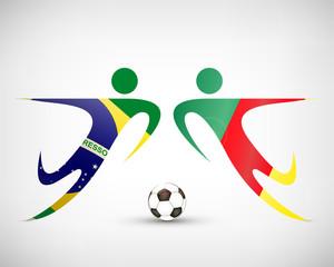 Fußball - Brasilien gegen Kamerun