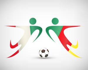 Fußball - Mexiko gegen Kamerun