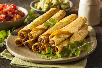 Homemade Mexican Beef Taquitos