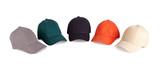 Fototapety Color baseball caps