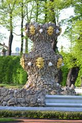 Fountain in renovated Summer garden