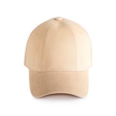 Beige baseball cap