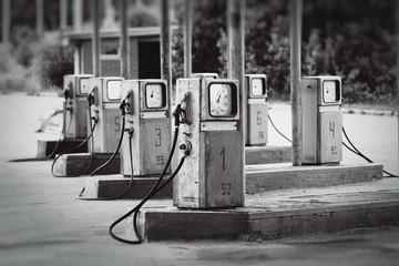 Old fueling station