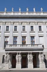 The Austrian Parliament Building in Vienna