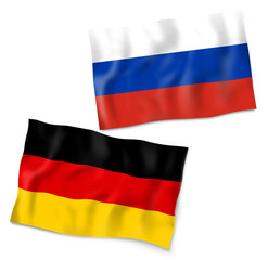 Germany Russia Flag Design