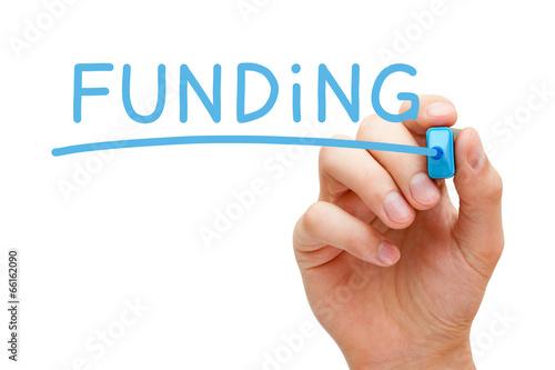 Funding Blue Marker