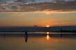 Venice, lagoon at sunset